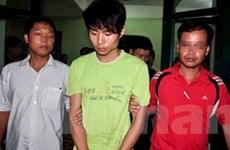 Di lý sát thủ tiệm vàng Ngọc Bích về tỉnh Bắc Giang