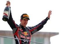 Tay đua Sebastian Vettel tiến gần tới chức vô địch F1