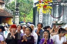 Hơn 120.000 người hành hương về Côn Sơn-Kiếp Bạc