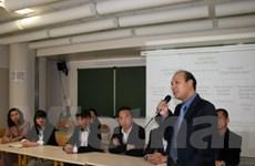 Hội sinh viên Việt Nam tại Paris tổ chức đại hội