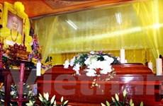 Lễ viếng Trưởng lão Hòa thượng Thích Thanh Tứ