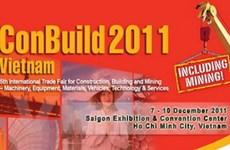 Gần 200 công ty tham dự triển lãm ConBuild 2011