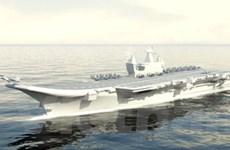 Hải quân Ấn lần đầu giới thiệu tàu sân bay tự đóng