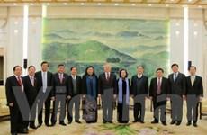 Tăng cường hợp tác hai cơ quan lập pháp Việt-Trung