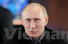 Lãnh đạo Việt Nam điện chúc mừng Thủ tướng Nga