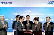 TTXVN hợp tác toàn diện với Ngân hàng Quân đội