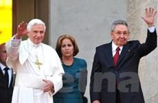 Chủ tịch Cuba hội đàm với Giáo hoàng Benedict XVI