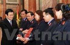 Trao quyết định bổ nhiệm các chức danh kiểm sát