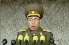 Triều Tiên míttinh 80 năm ngày thành lập quân đội