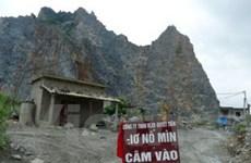 Hải Phòng: Lại xảy ra lở đá trên khu mỏ Trại Sơn