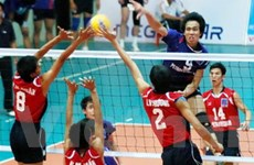 Hai đội nước ngoài dự giải bóng chuyền nam quốc tế