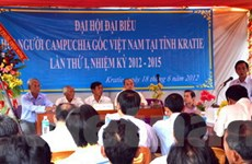 Đại hội Hội người Campuchia gốc Việt ở tỉnh Kratie