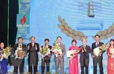 Trọng thể buổi lễ trao Giải báo chí Quốc gia lần thứ 6