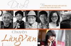 Phác thảo chân dung gần 50 nhà văn Việt và quốc tế