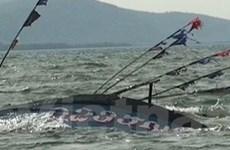 Truy tìm tàu đâm chìm tàu cá ở vùng biển cửa Sót
