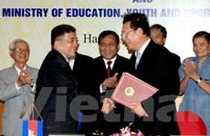 VN-Campuchia ký kế hoạch hợp tác giáo dục đào tạo