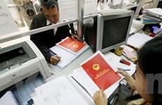 """Thí điểm tổ chức văn phòng đăng ký """"sổ đỏ"""" một cấp"""