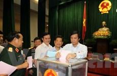 Trình Quốc hội nghị quyết về lấy, bỏ phiếu tín nhiệm