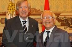 Phó Tổng thống Uruguay tới thăm TP. Hồ Chí Minh