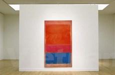 """Bức họa """"Royal Red and Blue"""" có giá 75,1 triệu USD"""