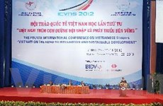 Ngành Việt Nam học trên đường hội nhập, phát triển