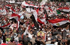 Phe Hồi giáo ở Ai Cập biểu tình ủng hộ Tổng thống