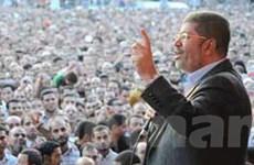 Tổng thống Ai Cập muốn trưng cầu dân ý hiến pháp