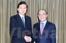 Chủ tịch Quốc hội tiếp cựu Thủ tướng Nhật Hatoyama