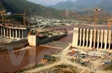 Chủ tịch nước thăm công trình thủy điện Lai Châu