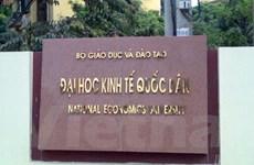 Nhiều sai phạm tại Trường Đại học Kinh tế Quốc dân