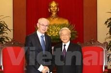 Mở rộng hợp tác Việt Nam với EU, Bỉ, Italy và Anh