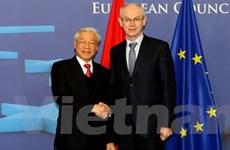 Việt Nam muốn có quan hệ đối tác toàn diện với EU