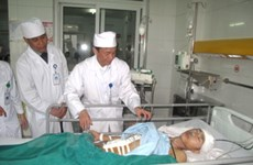 Cứu sống một bệnh nhân bị vỡ tĩnh mạch chủ bụng