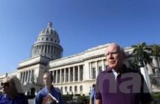 Đoàn các nghị sỹ Mỹ kết thúc chuyến thăm tới Cuba