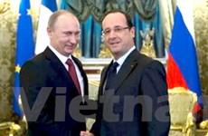 Nga-Pháp ký hơn 10 văn kiện hợp tác nhiều lĩnh vực
