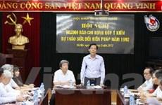 Hội Nhà báo Việt Nam góp ý sửa đổi Hiến pháp 1992