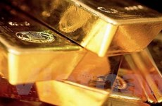 Giá vàng sụt mạnh tới 70 USD trên thị trường châu Á