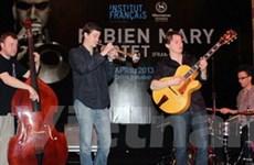 Nhóm tứ tấu jazz Fabien Mary biểu diễn ở Việt Nam