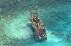 Philippines tố tàu Trung Quốc phá 4.000m2 san hô