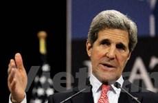 Ngoại trưởng Mỹ tới Nga tìm cách khôi phục quan hệ