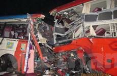 Đã làm rõ nguyên nhân tai nạn xe khách ở Cam Ranh