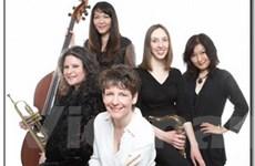 Nhóm ngũ tấu Jazz Five Play của Mỹ diễn tại Việt Nam
