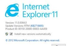 Microsoft xác nhận Internet Explorer 11 có trên Win 7