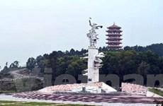 Khánh thành đài phun nước di tích Ngã ba Đồng Lộc