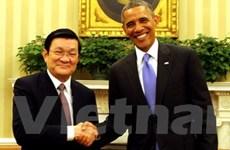 Tuyên bố chung hai nguyên thủ Việt Nam và Hoa Kỳ