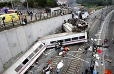 Tây Ban Nha tổ chức tưởng niệm vụ tai nạn đường sắt