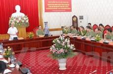 Đoàn kiểm tra Bộ Chính trị làm việc Đảng ủy Công an