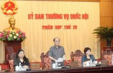 Khai mạc phiên họp 20 Ủy ban Thường vụ Quốc hội