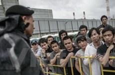 Có thêm 46 lao động Việt ở Nga lên đường về nước