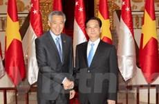Nâng quan hệ đối tác chiến lược Việt Nam-Singapore